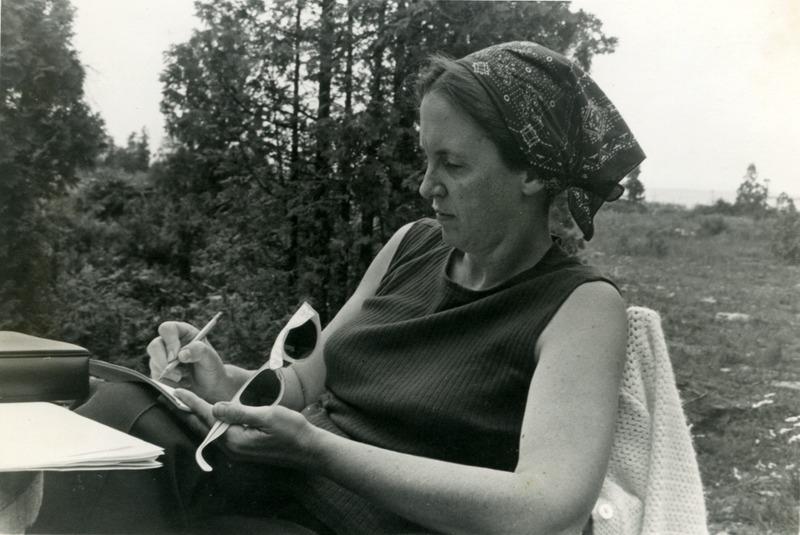 Elinor Ostrom at Manitoulin