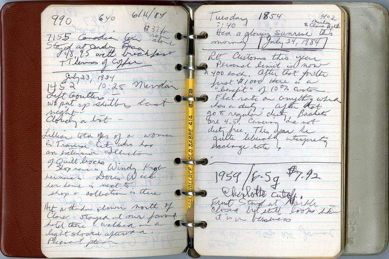 Ostrom Travel Journal
